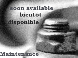 site under maintenance - maintenance en cours